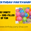 Birthday Party Balloons - Gas-Filled Bags of Fun